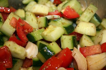 Making Greek Salad 8