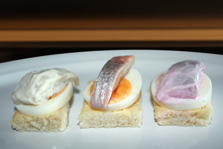Laatvian Canapes