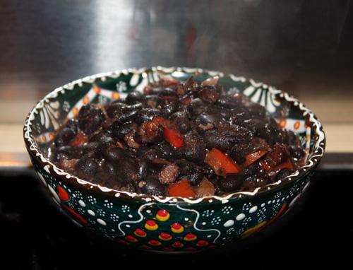 Caraotas Negras, black beans
