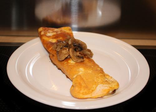 Cheese Mushroom Omelette