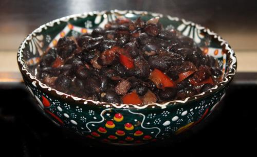 Schwarze Bohnen - Black Beans 1