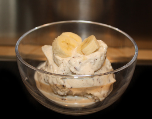 Banana Stracciatella Frozen Yogurt 1